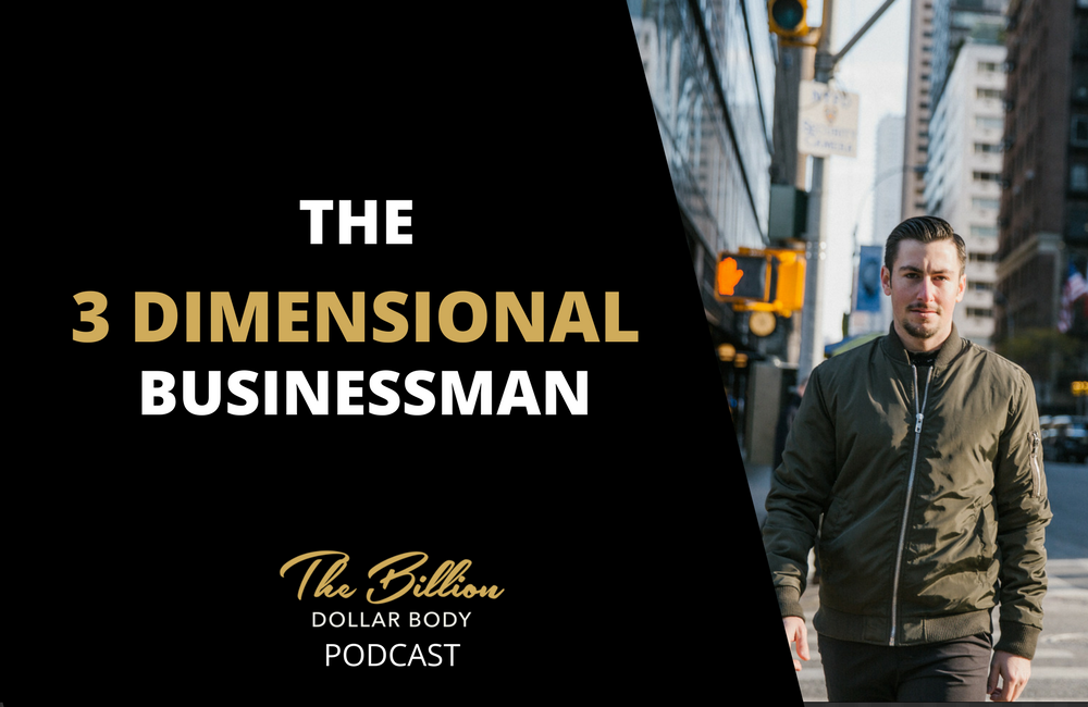 The 3 dimensional Businessman